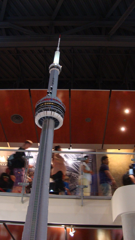 cn Tower Lego cn Tower Lego-display-toronto