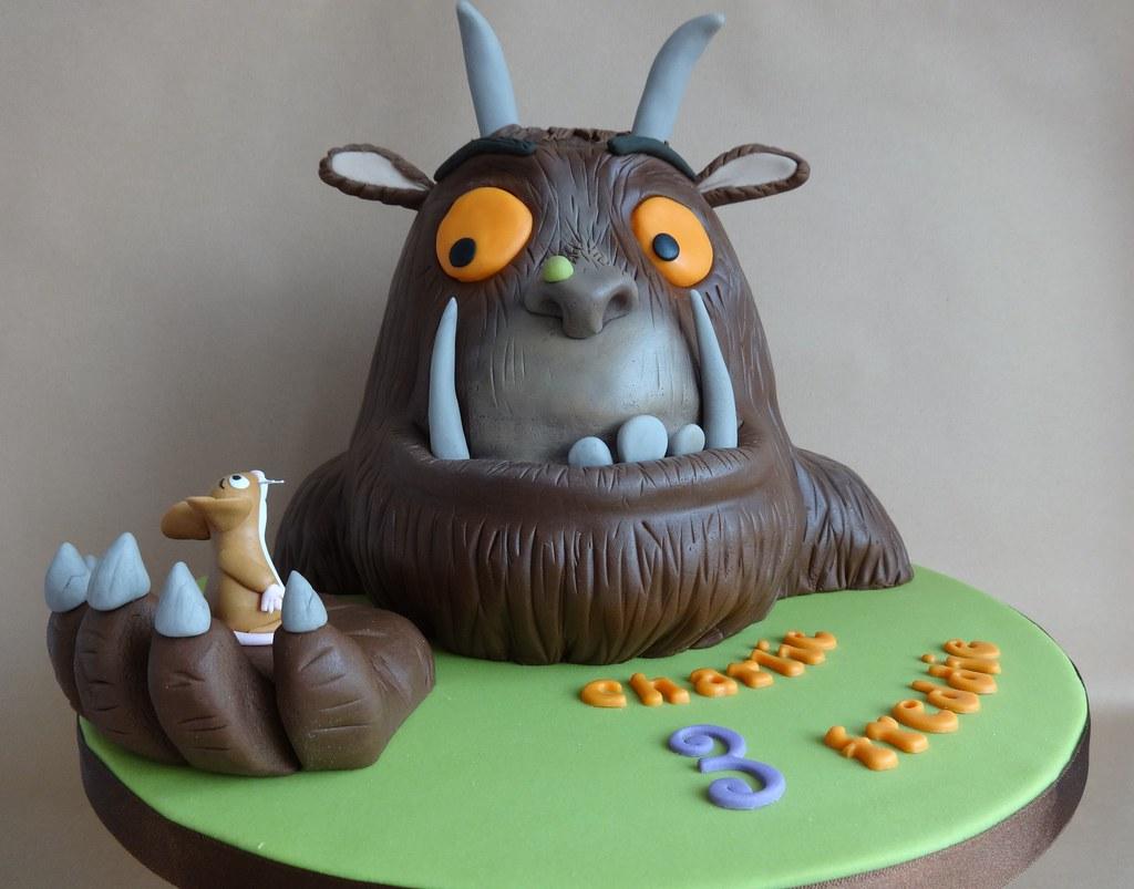 Gruffalo Cake My First Cake For Twins Happy Birthday