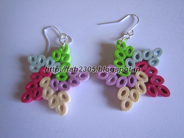 Handmade Jewelry - Paper Quilling Star Earrings These earr? Flickr
