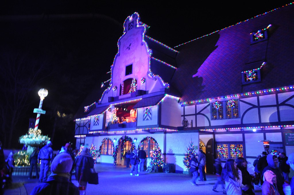 christmas town 2013 at busch gardens williamsburg by insidethemagic