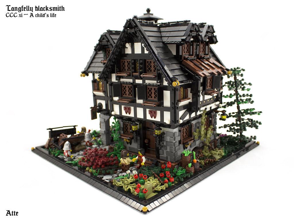 lego hobbit house instructions