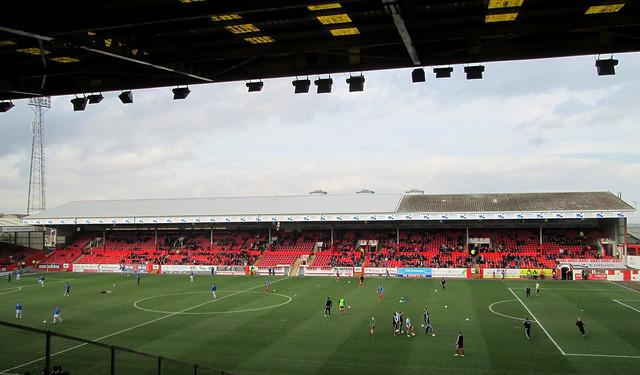 Main Stand Pittodrie Stadium Flickr Photo Sharing