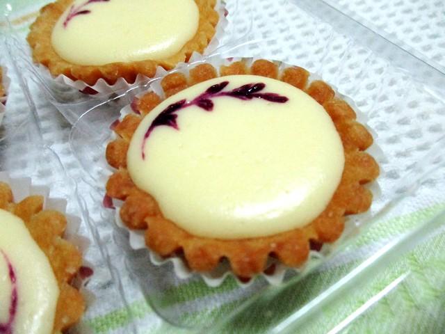 Stephanie's homemade cheese tarts 2