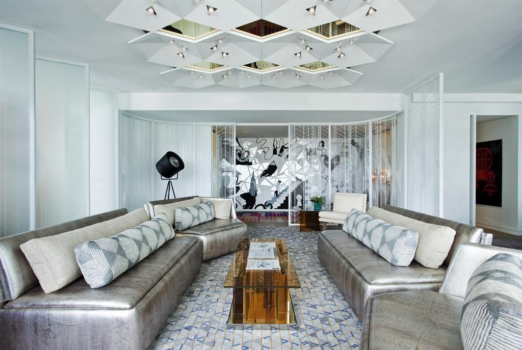 W new york times square extreme wow living room for W living room new york