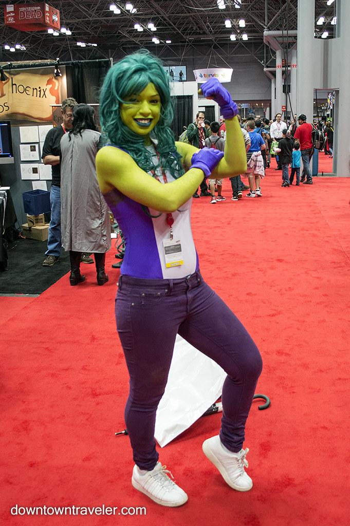 Ny Comic Con Womens Costume She Hulk  Best Female -7961