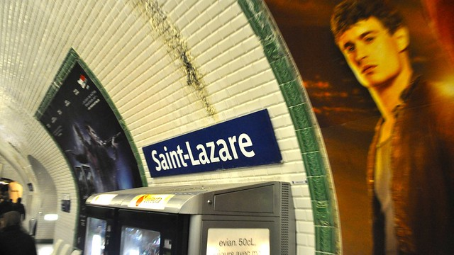 saint lazare m tro station paris flickr photo sharing. Black Bedroom Furniture Sets. Home Design Ideas