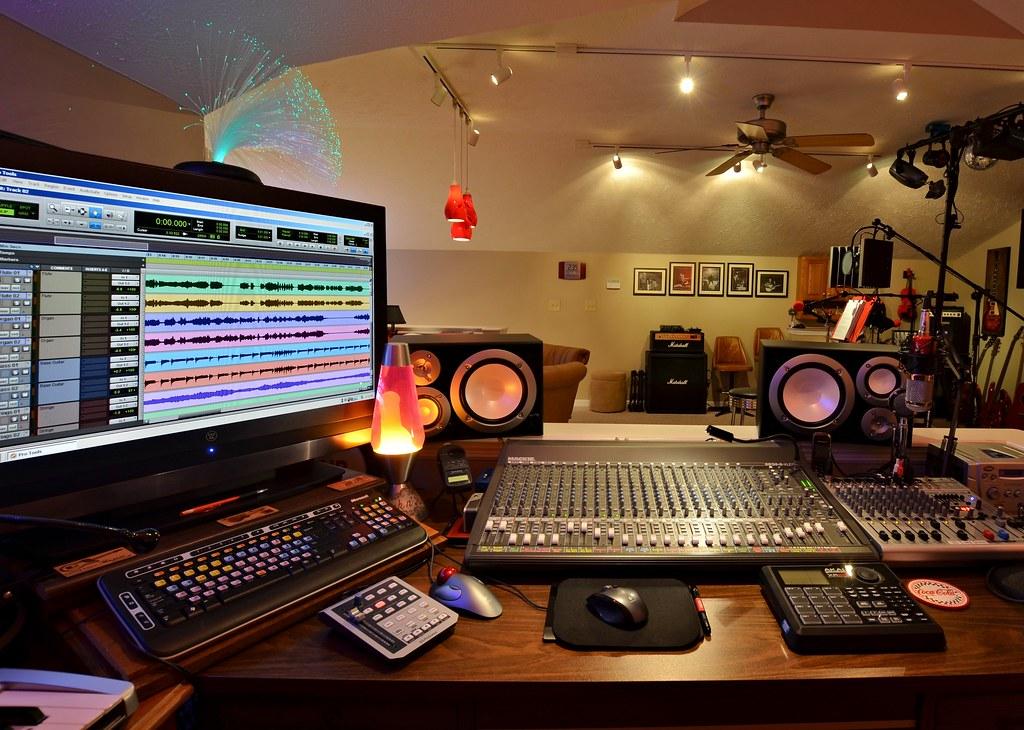 Pro Tools Home Studio Copperline Flickr