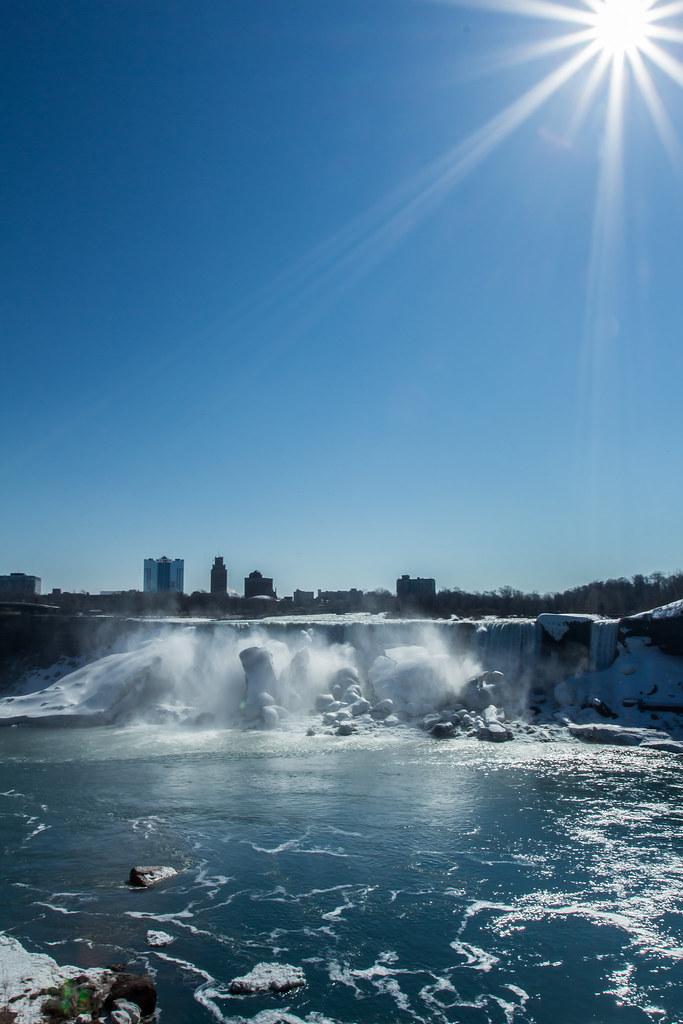 Niagara falls in color and black white niagara falls for Niagara falls coloring page