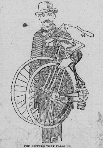 Folding Bicycle 1895