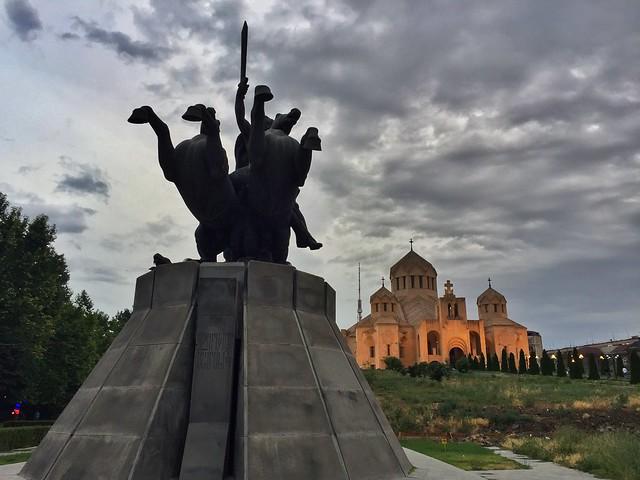 Catedral de San Gregorio en Ereván (Georgia)