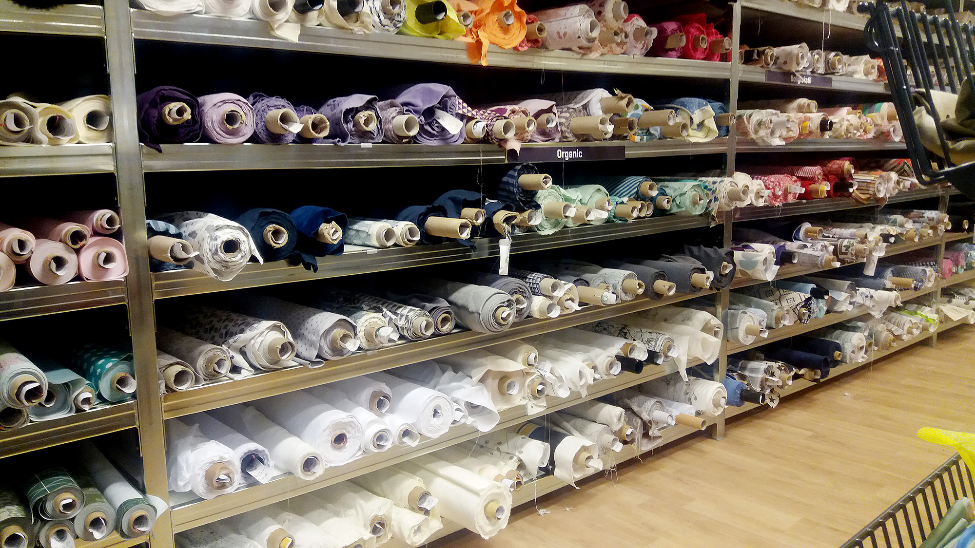 Fabric shopping in Copenhagen