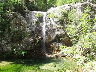 Confluence Carciara/Frassiccia : la cascade de la Frassiccia