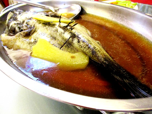 Steamed fish 2
