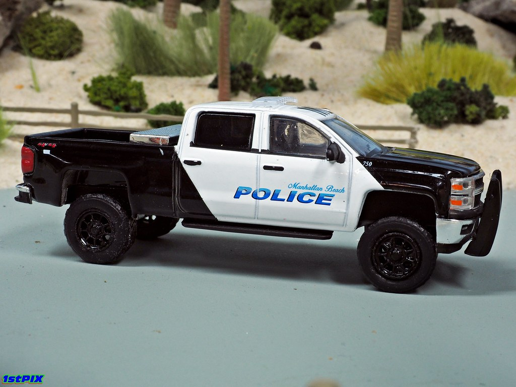 Manhattan Beach Police Chevy Silverado | On patrol in the ...