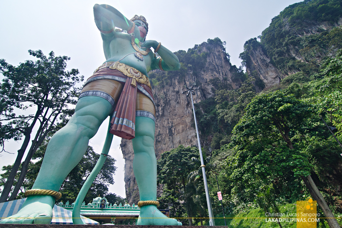 Batu Caves Malaysia Green Monkey God