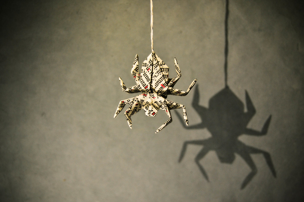 origami spider ph��m Đ236nh tuy�n another duo this time