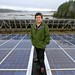 """#6 Best of 2013: Solar T'Souke – T'Sou-ke Chief Gordon Planes amongst a sea of solar modules on the canoe shed on Vancouver Island. For Planes using solar energy is like returning to his roots: """"Our people were dependent on the elements that the creator g"""