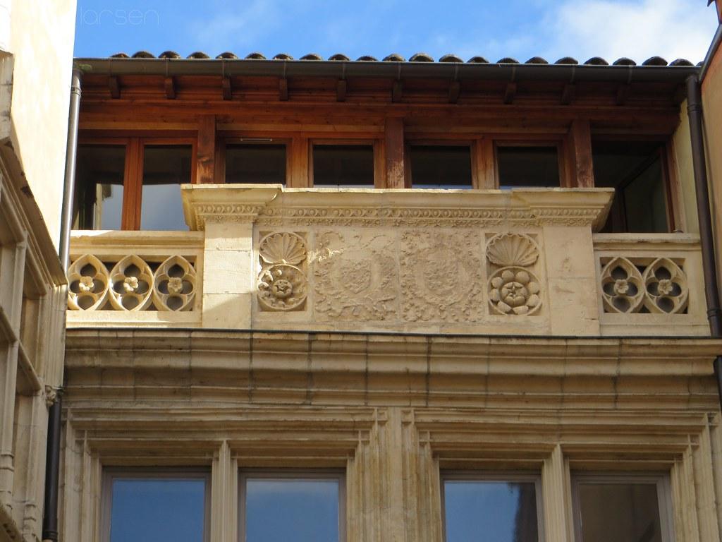 Villefranche sur sa ne la maison de l 39 italien c est la for Linge de maison villefranche sur saone