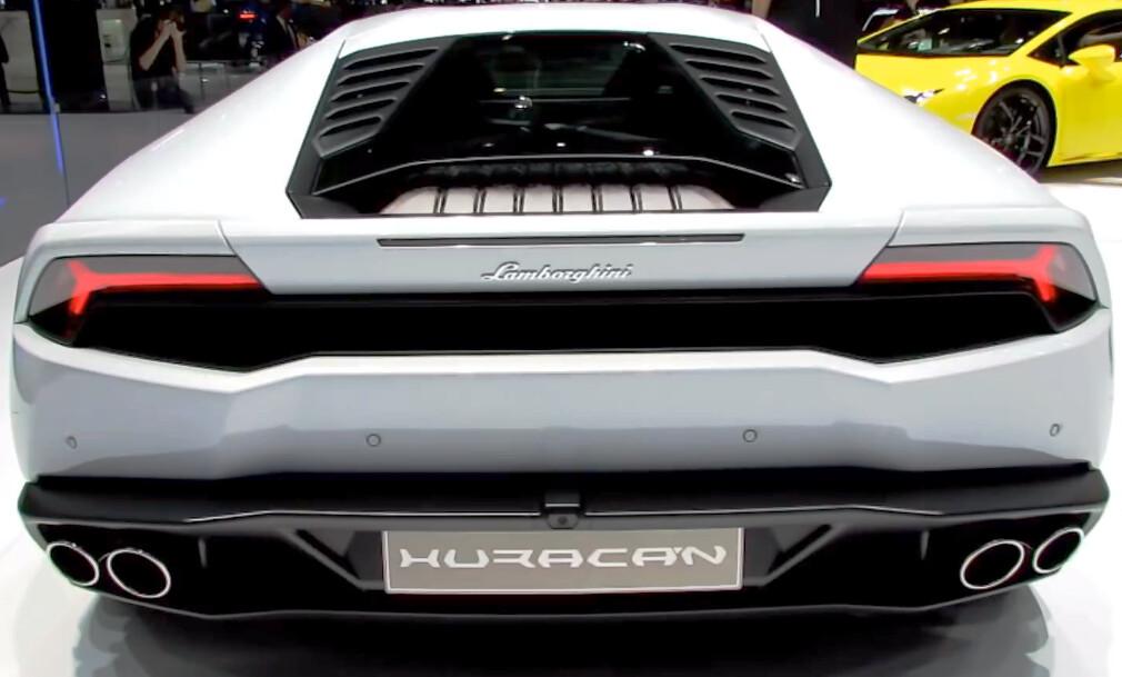2015 Lamborghini Huracan Rear View Geneva Motor Show 201 Flickr