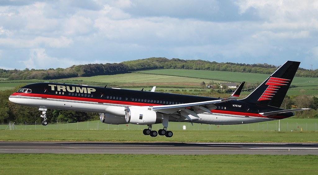 N757AF Trump Boeing 757-2J4 Glasgow Prestwick 13/5/14 | Flickr