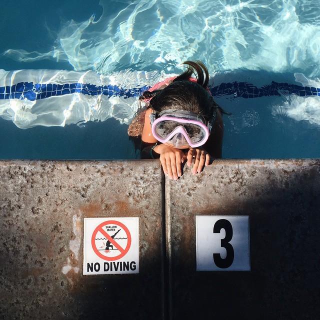 Hot spring pool time. #milathemiddlekid by malimish_marlene