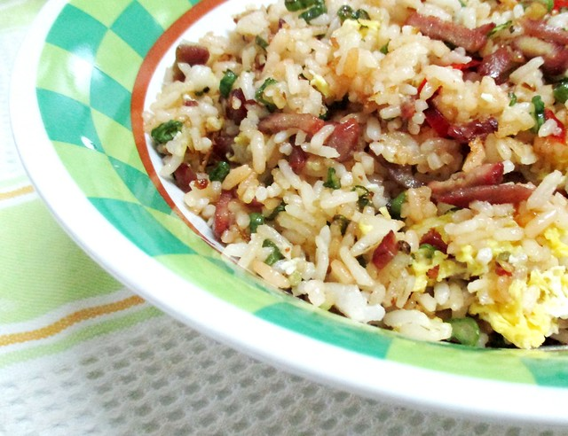 Char siew fried rice