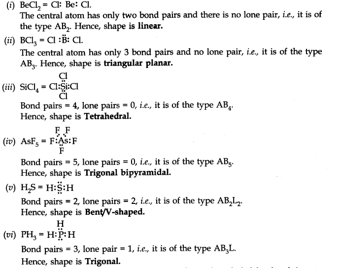 chemical bonding ncert solutions