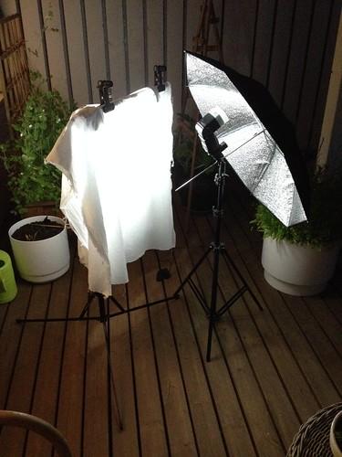 Perhosten yökuvaus. Valokuvaaja: Markus Kauppinen
