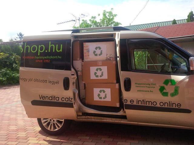 Zoknik újrahasznosításra készen - 5. kör