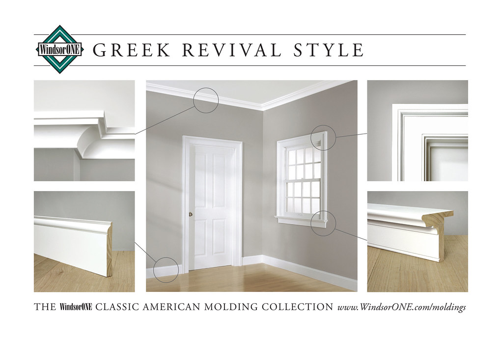 Greek Revival Molding Room 1 Historically Accurate
