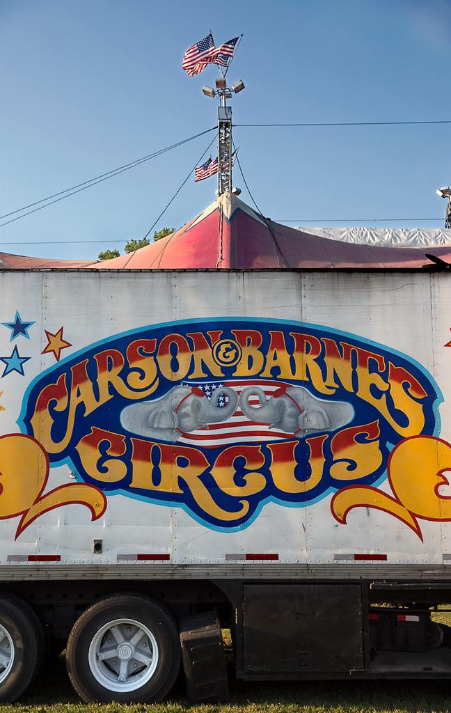 Truck And Tent | Carson & Barnes Circus, 2013 | Rick ...