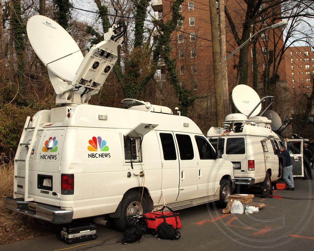 Nbc News Satellite Truck Deadly Metro North Passenger Tra
