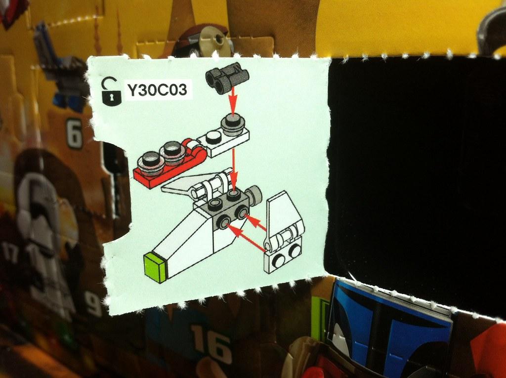 LEGO 75023 Star Wars ADVENT CALENDAR 2013! Day 8.   Day 8 Mi ...