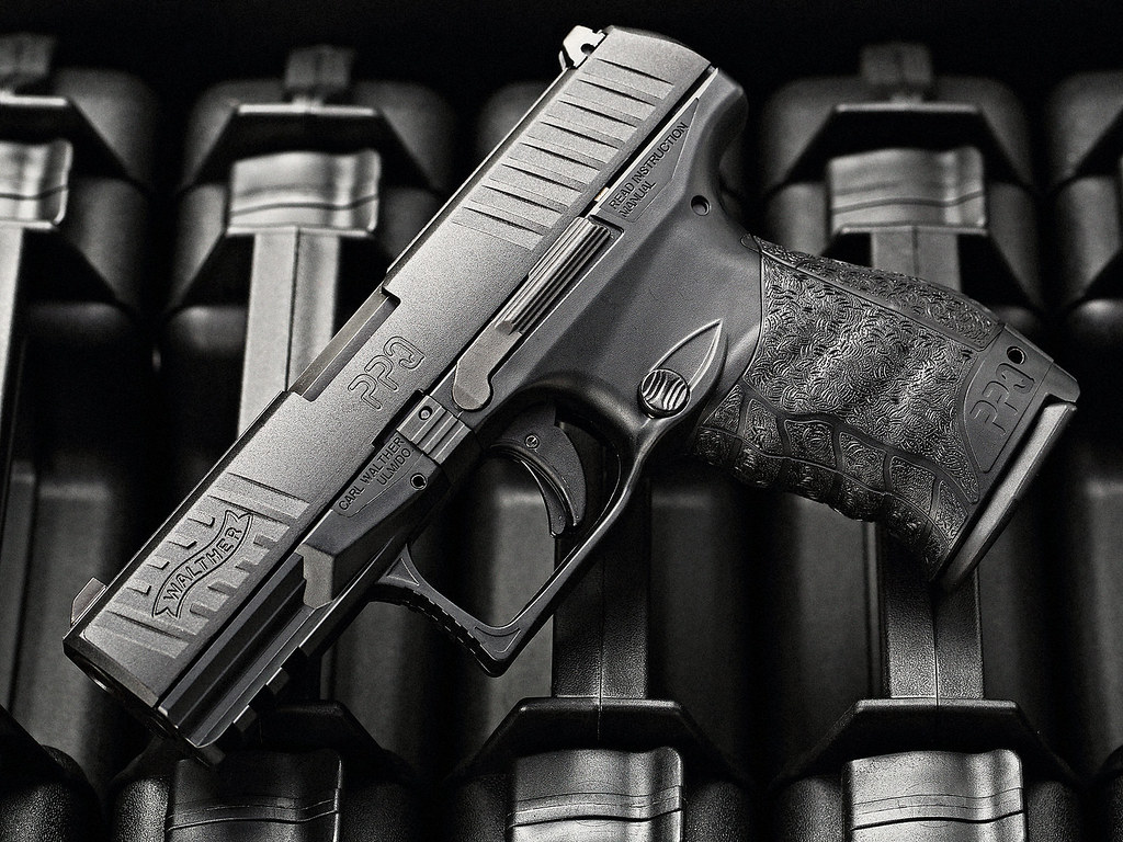 WALTHER PPQ M2 | Toy gun shoot for related article. | Joe ...