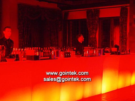 Verlichte decoratie led meubilair voor led koffie bar flickr - Decoratie bar ...