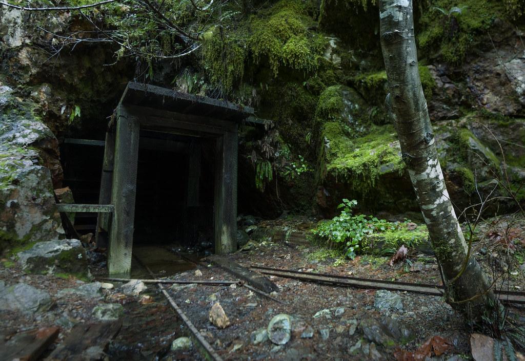 Abandoned Mine Entrance Opal Creek Oregon Thomas