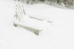 chair with snow 010