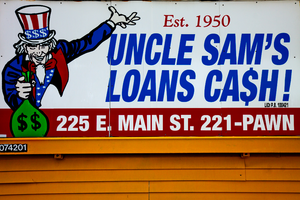 UNCLE-SAM'S-LOANS-CASH--Columbus