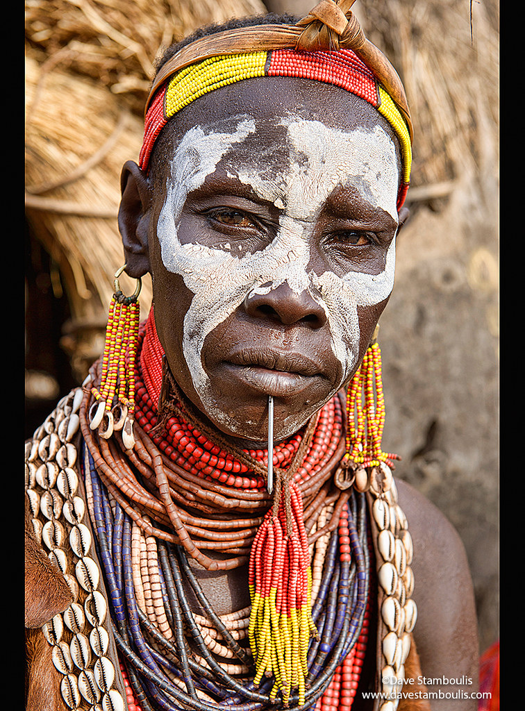 African Tribal Face Paint Meanings