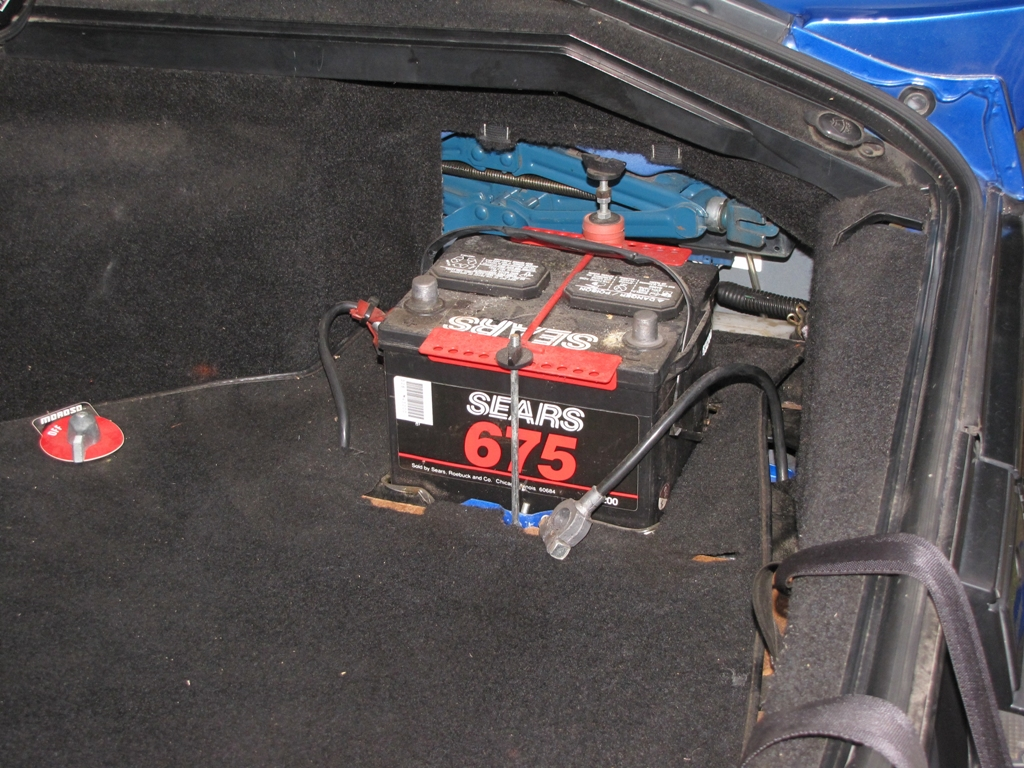 Battery Relocation