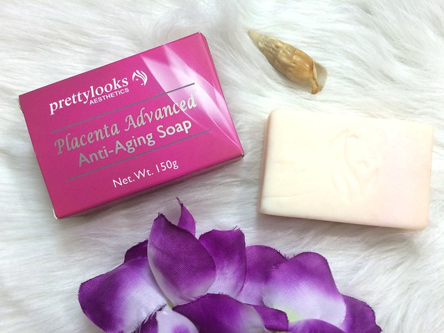 Pretty Looks Placenta Advanced Anti-aging Soap