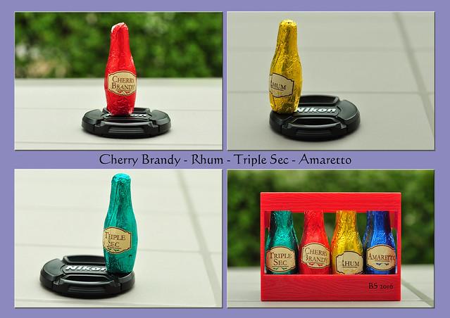 Alles in Schoko: Cherry Brandy - Rhum - Triple sec - Amaretto Foto: Brigitte Stolle 2016