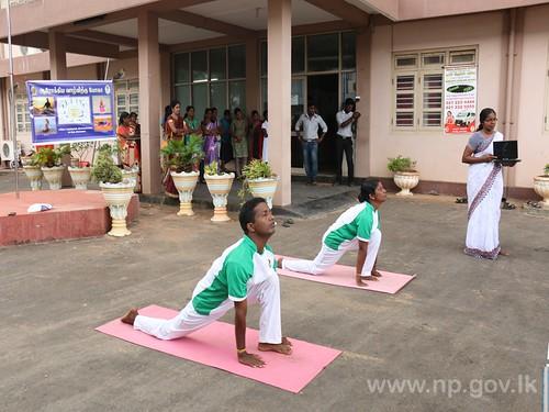 சர்வதேச யோகா தின நிகழ்வு 2016