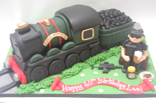 Steam Train Cake Images : King Edward 1st Steam Train Cake   Beautiful Birthday Cakes