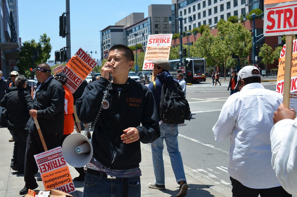 SF Giants concession workers stage one day strike | SF Giant… | Flickr