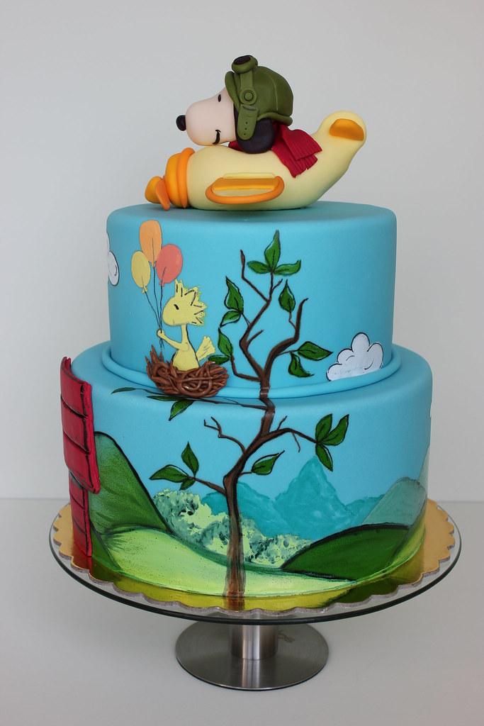 Charlie Brown Cake Pan Snoopy