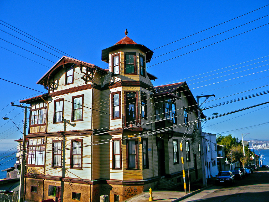Casas y mansiones de playa ancha valpara so chile flickr for Casas y mansiones