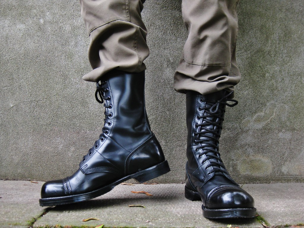 Corcoran 10 Original Jump Boots 25 Cm Tall Shown
