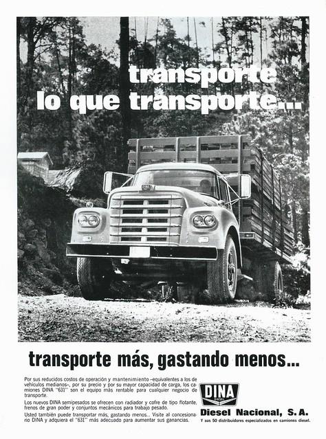 1970 Dina 631 (Mexico)