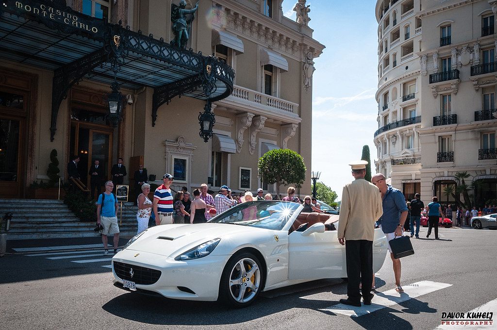ferrari california in front of casino monte carlo monaco flickr. Black Bedroom Furniture Sets. Home Design Ideas